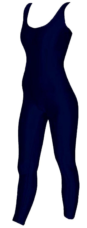 Footless Unitard DanceNwear Mens Long Sleeve Cotton//Lycra Scoop Neck