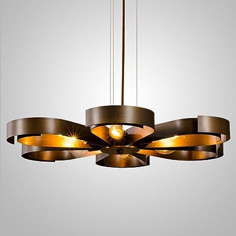 Retro lámpara colgante lámpara de techo Vintage Focos colgantes ...