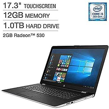 "HP 17-BS153CL Intel i5-8250U (Beat i7-7500U) 12GB 1TB HDD 17.3"" Touch Screen Radeon 2GB Laptop"