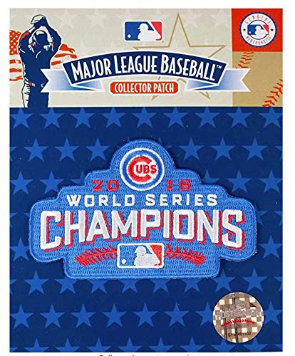 World Series Emblem Patch (Emblem Source Chicago Cubs World Series Champions 2016 Collectors Patch)