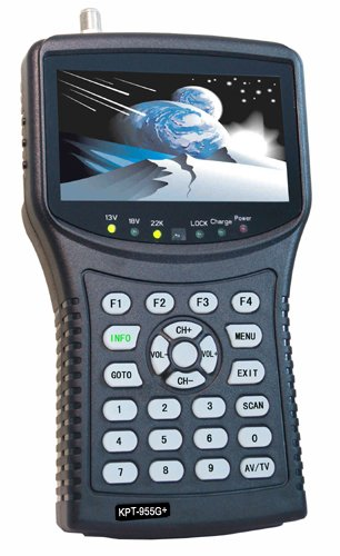 KangPut KPT-955G+(plus) AHD handheld satellite finder cctv camera monitor satellite hd sat finders satellite finder DVBS2 MPEG4 signal dvb-s2 antenna satellite