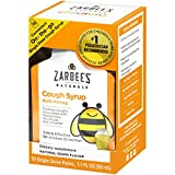 Zarbee's Naturals Children's Cough Syrup with Dark Honey, Natural Grape Flavor, 10 Single Serve On-The-Go Packs