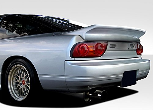 240sx Spoiler Wing Nissan (1989-1994 Nissan 240SX HB Duraflex Wangan V2 Wing Trunk Lid Spoiler - 1 Piece)