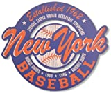 New York Mets Vintage Style Wood Cut Out Sign-15x18