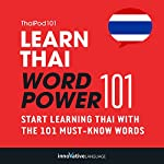 Learn Thai - Word Power 101: Absolute Beginner Thai #1 |  Innovative Language Learning