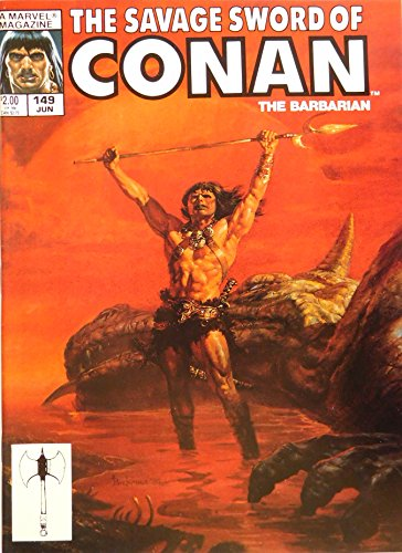 The Savage Sword of Conan the Barbarian No. (149 Tom)
