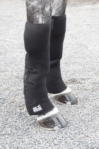 Ice Horse Pair of Knee to Ankle Wraps for Equine Therapy - Comes with 12 Ice Packs by Ice Horse