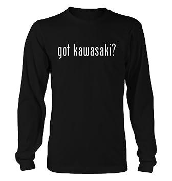 Got Kawasaki? Funny Hombres Adultos de manga larga camiseta, negro, grande: Amazon.es: Deportes y aire libre