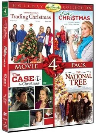 hallmark holiday collection movie 4 pack trading christmas lucky christmas case for christmas - Amazon Christmas Movies