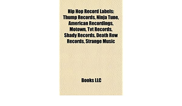Hip hop record labels: Thump Records, Ninja Tune, American ...