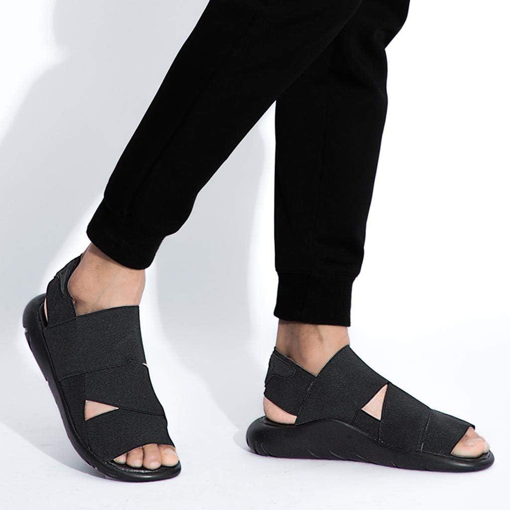 SHOBDW Hommes Chaussures de Plage Confortables pour Hommes Mode Estivale Tendance Jeunesse Sandales en Plein air Chaussures Sauvages