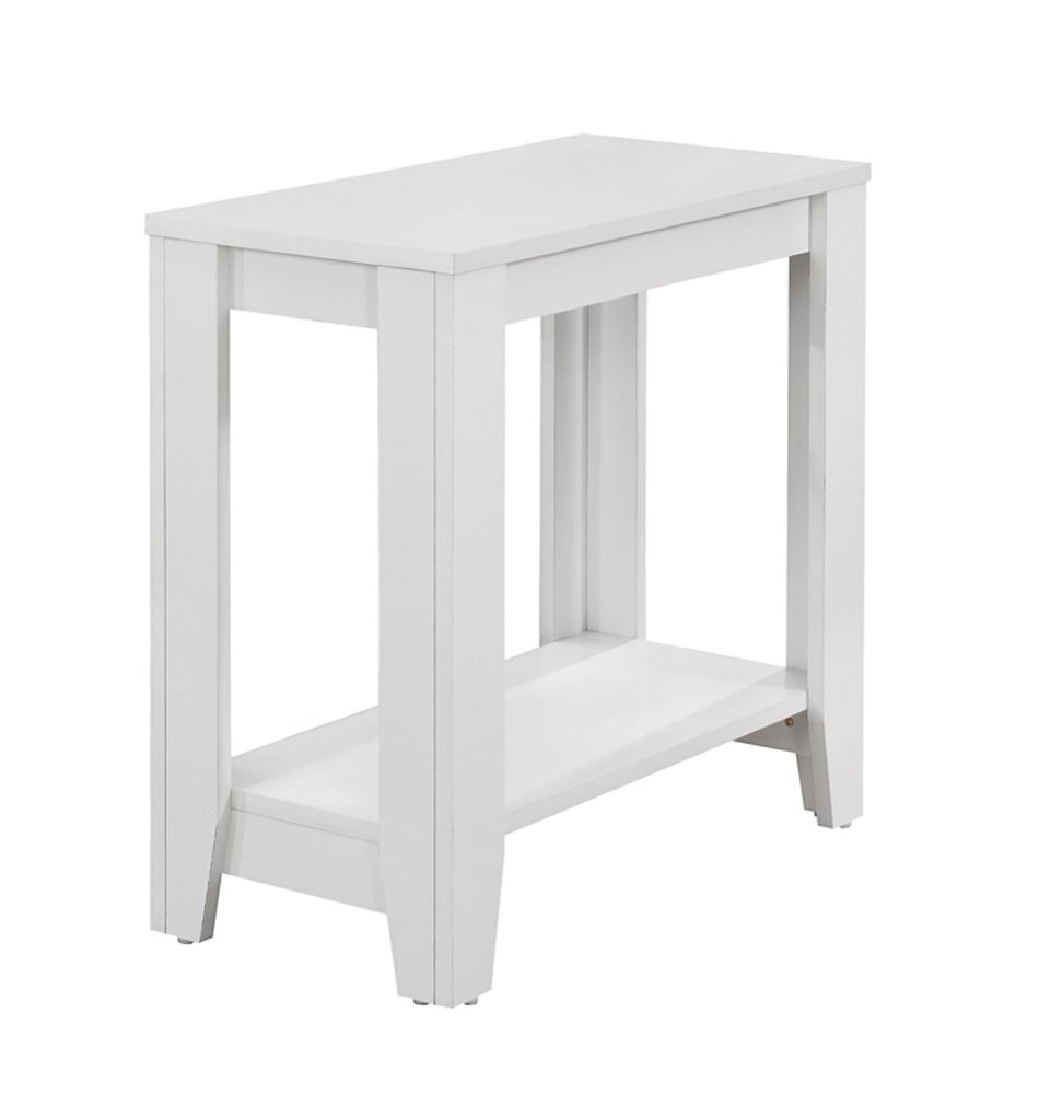 Monarch Specialties I 3117 Accent Table, White