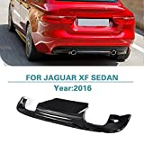 Rear Diffuser Bumper Lip for Jaguar XF Sedan 4-Door 2016