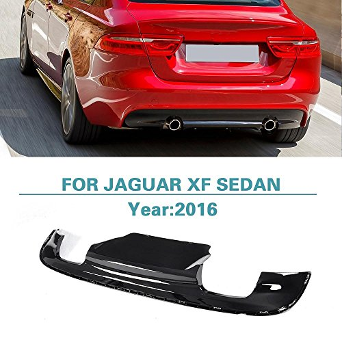 Rear Diffuser Bumper Lip for Jaguar XF Sedan 4-Door 2016 by Jun-star