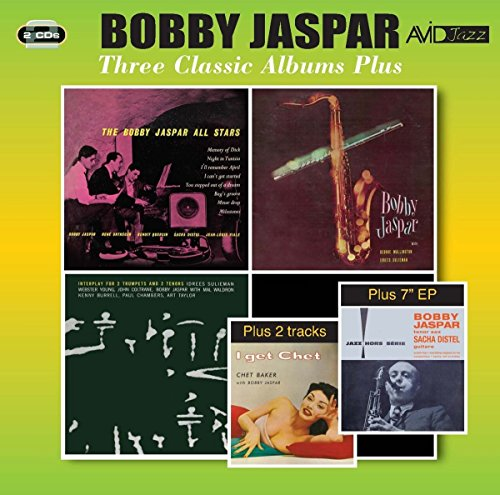 (3 Classic Albums Plus (Bobby Jaspar All Stars / Tenor & Flute / Interplay For 2 Trumpets & 2 Tenors))