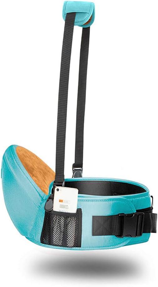 DUOUH Baby Carrier Waist Stool Kangaroo Suspenders Backpack Baby Slings Hipseats Kids Infant Multifunctional Waist Straps Hip Seat,Green