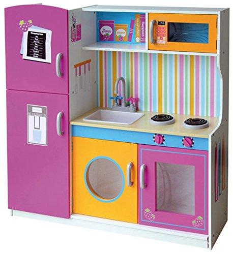 Kinderküche mit Waschmaschine - Leomark Spielküche