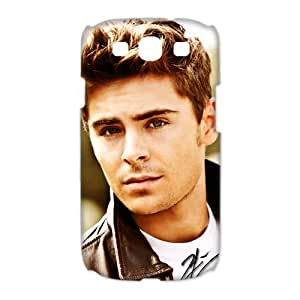 CTSLR Star Zac Efron Protective 3D Hard Case Cover Skin for Samsung Galaxy S3 I9300-1 Pack-8