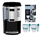 Cuisinart DCC-3000FR DCC3000FR Coffee-on-Demand 12-Cup Programmable Coffeemaker w/ Two Pack Coffee Mug & Iced Beverage Cup & Coffee/ Espresso Descaler (Certified Refurbished)