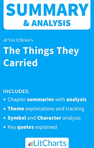 Amazon Summary Analysis Of The Things They Carried By Tim O
