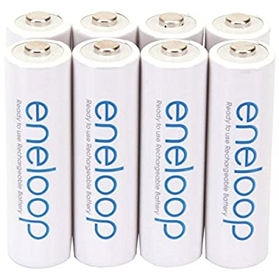 Panasonic eneloop AA New 2100 Cycle Ni-MH Pre-Charged Rechargeable Batteries