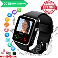 Smart watch for android phones,2018 Bluetooth smartwatch android phone watch, waterproof smart...