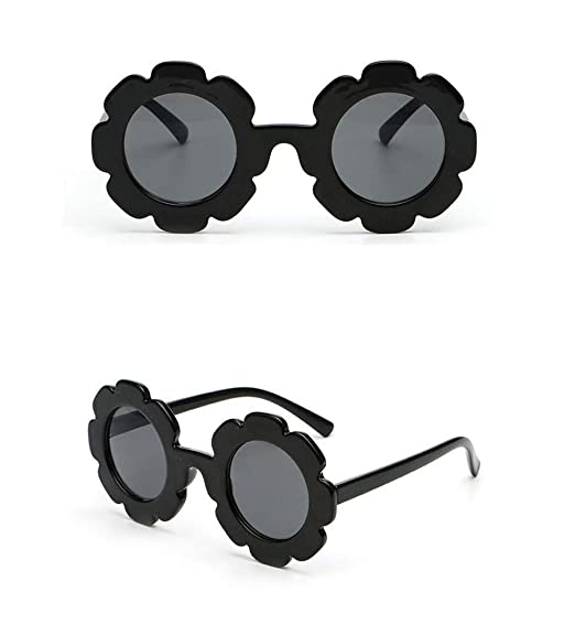 d61967377390 Toddler Kids Girl Flower Round Anti-UV Sunglasses, Colorful Eyewear Suit  for Party Photography