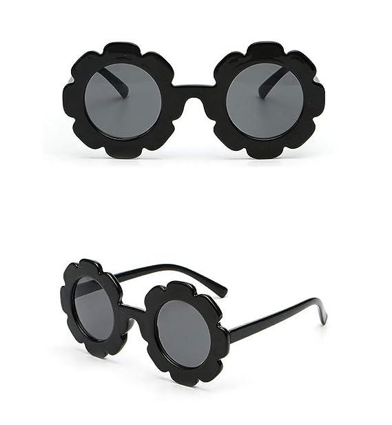 Amazon.com: Gafas de sol redondas para niños y niñas, diseño ...