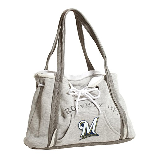 Milwaukee Brewers Bedding - Littlearth Milwaukee Brewers Hoodie Purse