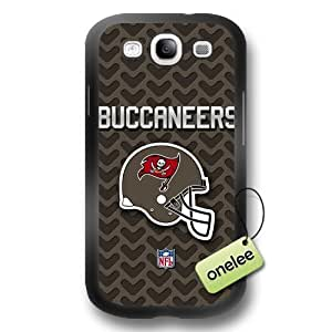 NFL Tampa Bay_Buccaneers Team Logo For SamSung Note 3 Case Cover Black PC(Hard) SoftBlack