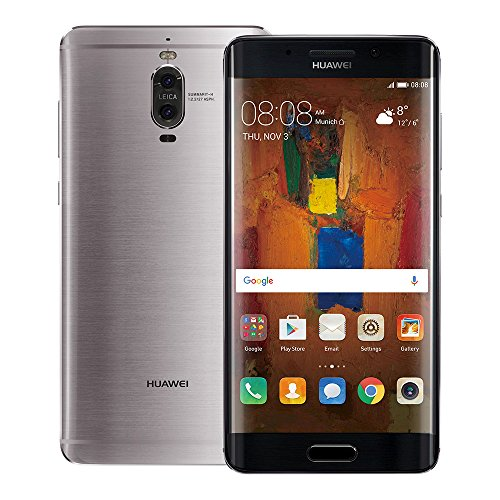 Huawei Mate 9 Pro LON-L29C 6GB / 128GB 5.5-inch 4G LTE Dual SIM FACTORY UNLOCKED - International Stock No Warranty (GREY)
