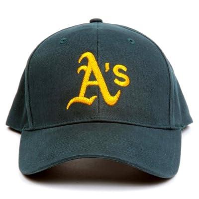 MLB Oakland Athletics LED Light-Up Logo Adjustable Hat by Lightwear