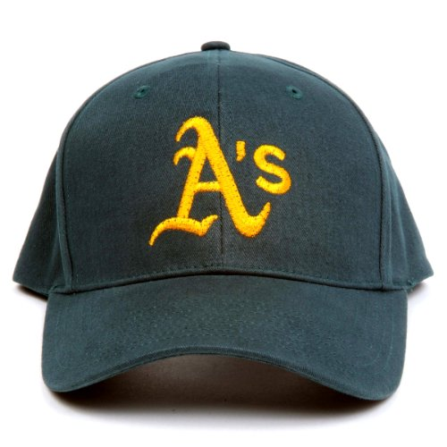MLB Oakland Athletics LED Light-Up Logo Adjustable Hat