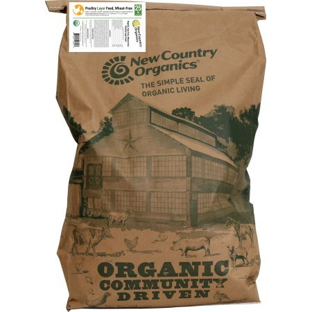 Additional Layer - New Country Organics 17% Chicken Layer Feed 25 Pounds