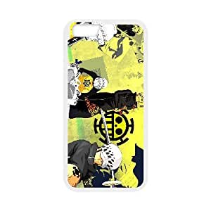 Special Design Cases iPhone 6s Plus 5.5 Inch Cell Phone Case White Trafalgar Law Xamsw Durable Rubber Cover