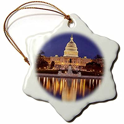 Danita Delimont - Buildings - Evening below the US Capitol Building, Washington DC, USA. - Ornaments