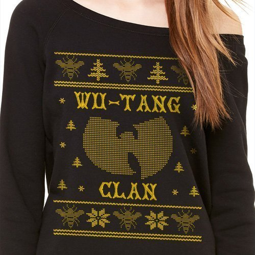 Wu Tang Clan Logo Ugly Christmas Sweater Tupac Hip Hop Legend Ugly
