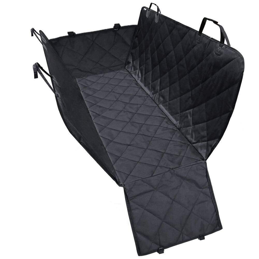 Dog Car Seat Covers, Dog Seat Cover with Side Flaps, Pet Seat Cover for Back Seat, 100% Waterproof Hammock Congreenible