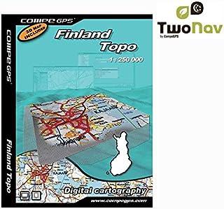 Twonav Carte Finlande complète 1/250e pour GPS CG-1/250FIFULL
