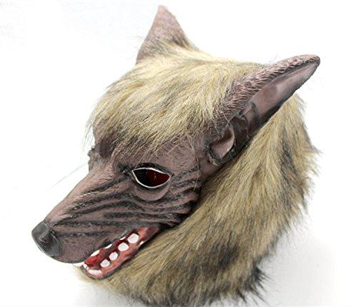 Grimbatol Silicone Wolfman Mask For Halloween -
