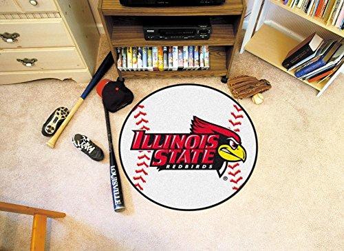 Illinois University Baseball Rug (Illinois State University Baseball Rug)