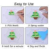 Water Fuse Beads Kit 24 Colors 3000 Beads, Refill