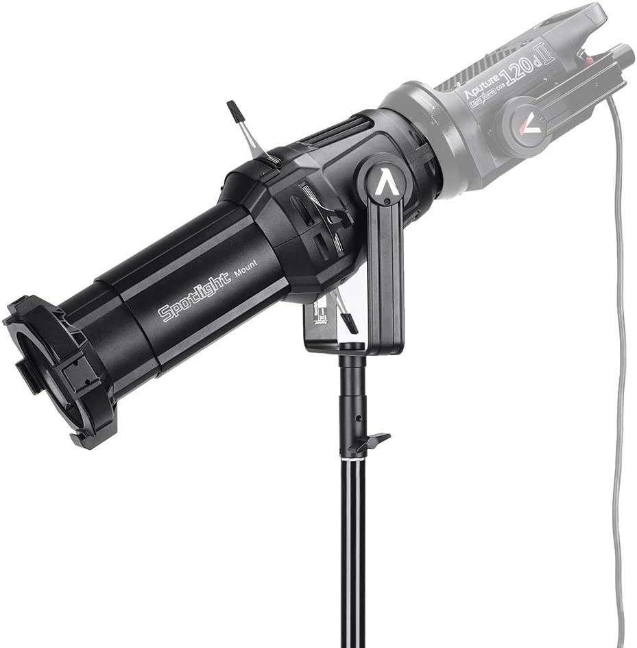 LS C120D and Other Bowens Mount Light Aputure Spotlight Mount 36/° Lighting Modifier Bowens-Mount for 300d Mark 2 LS C300D 120d Mark 2