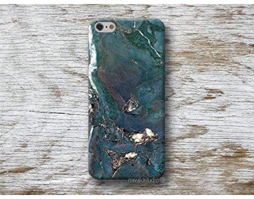 Funda Má rmol Azul para iPhone 4 5 5s SE 6 6s 7 Plus Samsung Galaxy s8 s7 s6 s5 A5 A3 J5... Huawei LG Moto Oneplus Sony HTC ....