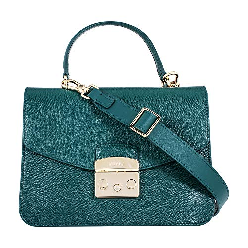 Furla Women's Metropolis Small Top Handle Cipresso One Size