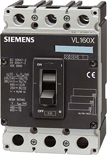 Siemens sentron vl - Tapa transparente para dispensador precinto termomagnetico