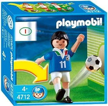 PLAYMOBIL Sports & Action - El fútbol - Jugador equipo italiano ...