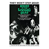 Night of the Living Dead (Style 2) Poster Print (24 x 36)