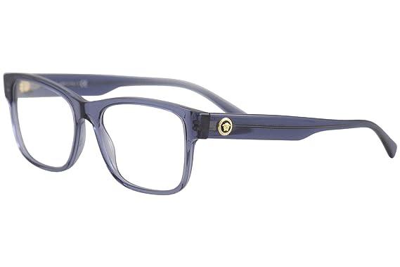 Amazon.com: Versace VE3266 VE3266-5292-55 - Marco para gafas ...