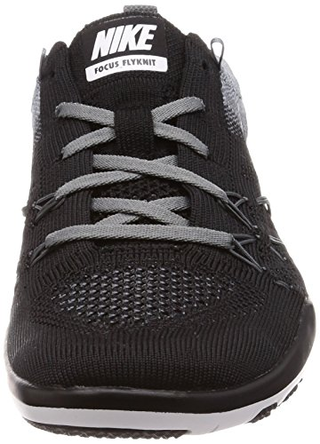 Chaussures De Formation Flyknit Nike Femmes Libres Transformer Black / White-cool